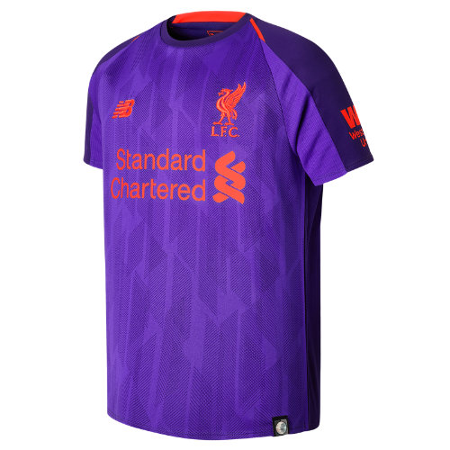 New Balance LFC Away Junior Short Sleeve Jersey Unisex Liverpool FC - JT830019DV