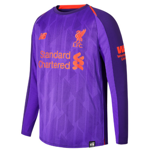 New Balance LFC Away Junior Long Sleeve Jersey Unisex Liverpool FC - JT830021DV