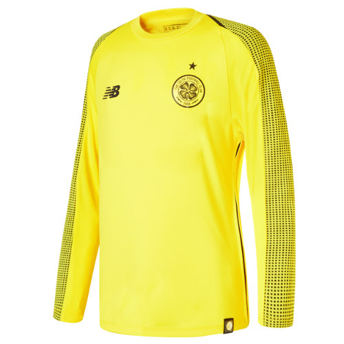 New Balance Celtic FC Home Junior GK Long Sleeve Jersey - No Sponsor Unisex Celtic FC - JT839023VIP