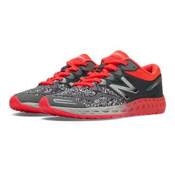New Balance Fresh Foam Zante, Dark Grey with Coral Pink