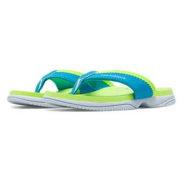 New Balance Jojo Thong, Blue Atoll with Lime