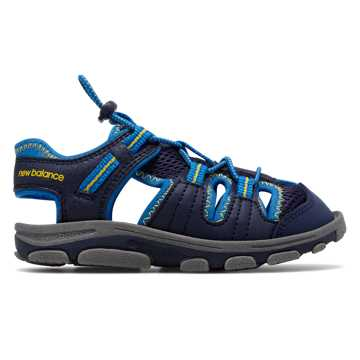 New Balance Adirondack Sandal, Navy with Bright Laser Blue