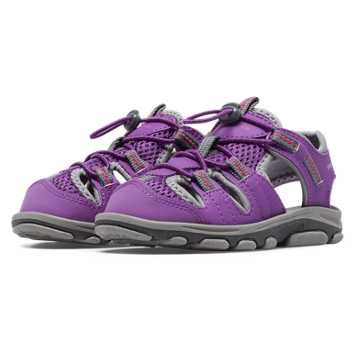 New Balance Adirondack Sandal, Purple Cactus Flower with Grey