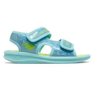 New Balance Sport Sandal, Blue Atoll with Lime
