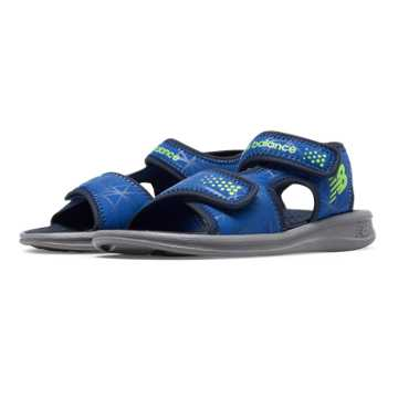 New Balance Sport Sandal, Grey with Blue