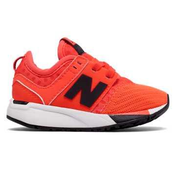 New Balance 247 Sport, Orange with Black