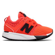 NB 247 Sport, Orange with Black