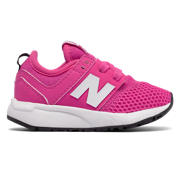 NB 247 Classic, Pink Flamingo with White