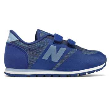 New Balance 420 Hook and Loop, Blue with Light Blue