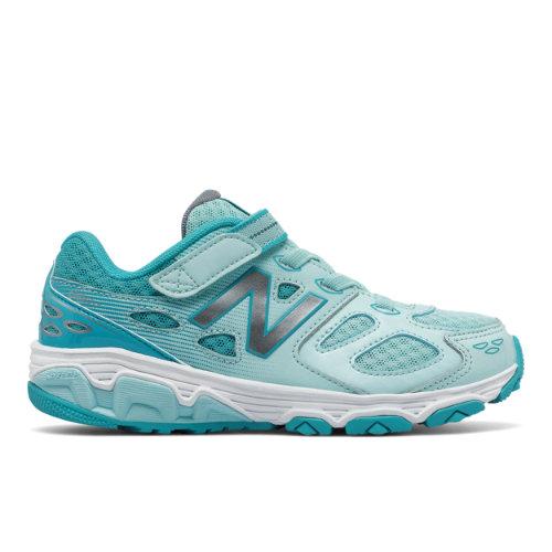 Hook and Loop 680v3 Kids Grade School Running Shoes - (KA680Y-V3G) KA680Y-V3G