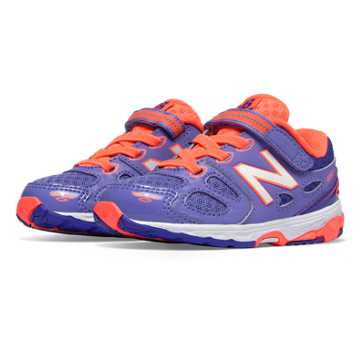 New Balance Hook and Loop 680v3, Purplehaze with Coral