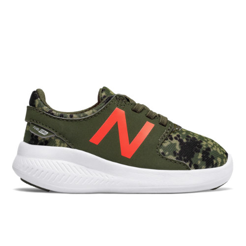 New Balance FuelCore Coast v3 Scarpe - Military Green/Dynamite