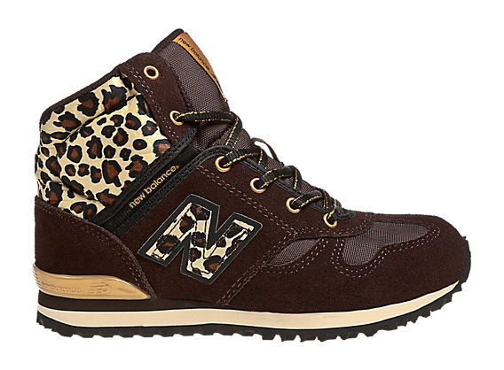 New Balance 490, Brown with Tan & Black