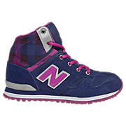 New Balance 490, Team Purple with Purple Cactus Flower & Silver