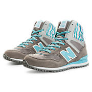 New Balance 491, Grey with Aqua
