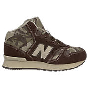 New Balance 565, Brown with Tan