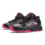 New Balance 82, Black with Hot Pink