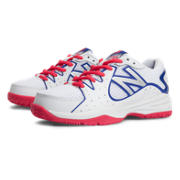 New Balance 786, White with Pink Shock & Blue