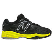 New Balance 996, Black with Neon Yellow
