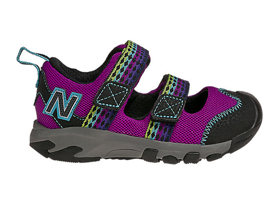 New Balance 554, Purple with Black