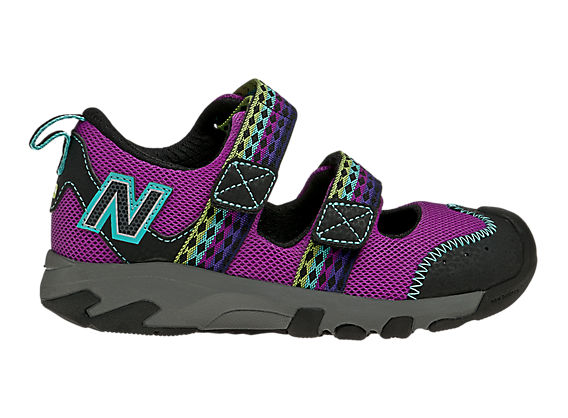 New Balance 554, Purple Cactus Flower with Black & Blue Radiance