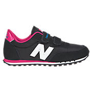 New Balance 410, Black with Raspberry