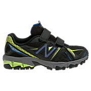 New Balance 610, Black with Lime Green & Blue
