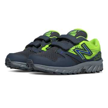 New Balance Hook and Loop 690 Trail, Toxic with Grey