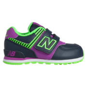New Balance High Visibility 574, Purple with Blue