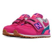 New Balance New Balance 574, Pink with Purple