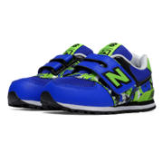 NB 574 New Balance, Blue with Green & Navy