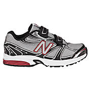 New Balance 632, Silver with Black & Red