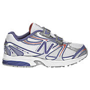 New Balance 632, White with Purple & Orange
