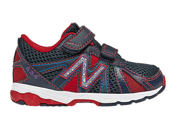 New Balance 634, Blue with Red