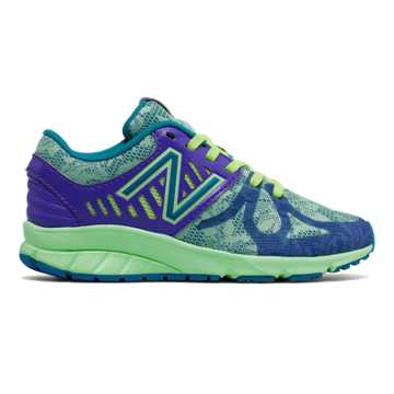 New Balance New Balance 200, Purple with Reef & Blue