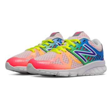 New Balance New Balance 200, White with Rainbow