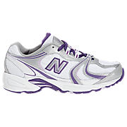 New Balance 508, White with Purple