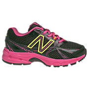 New Balance 512, Black with Pink