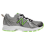 New Balance 554, Black with Green
