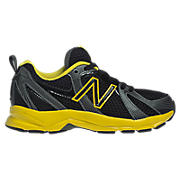 New Balance 554, Black with Yellow
