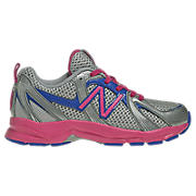 New Balance 554, Silver with Plenty Pink & Dowling
