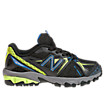 New Balance 610, Black with Yellow & Blue Atoll