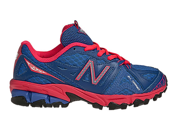 New Balance 610, Blue with Diva Pink