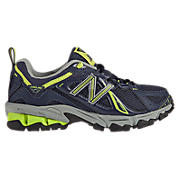 New Balance 610, Navy with Lime Green