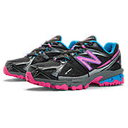 New Balance 610v3, Black with Diva Pink & Campanula