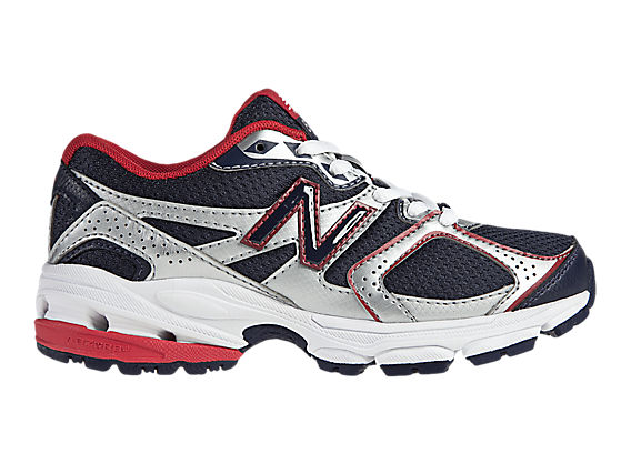 New Balance 633, Navy with Red & Silver