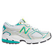 New Balance 633, White with Green Lake