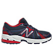 New Balance 634, Navy with Red