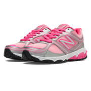 New Balance 636, Pink with Silver & Bubble Gum