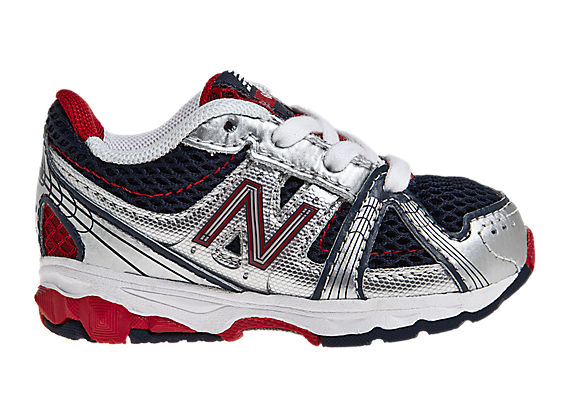 New Balance 689, Navy with Red & Silver